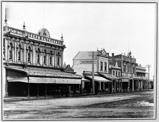 Main to Church Street 1893