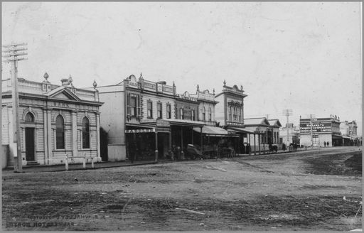 Broad to Main Street 1893