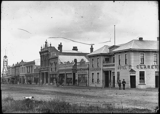 Rangitikei Street to Coleman Place 1891