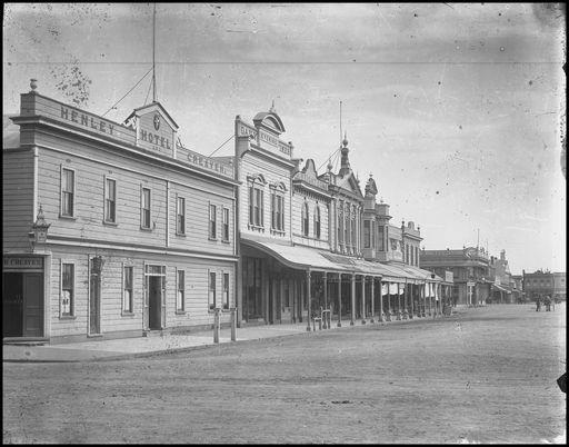 SW corner The Square 1893