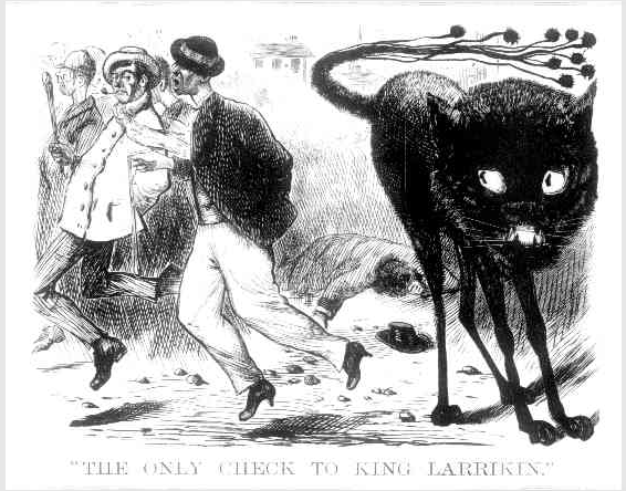The Only Check to KIng Larrikin