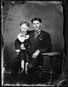 Lieutenant Herman, Ventriloquist