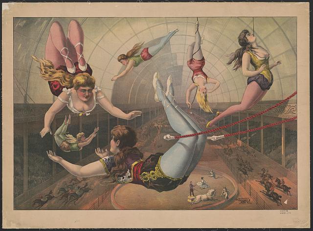 Female Trapeze Artists