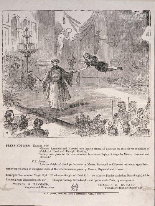 Press Notice, Evening Post 1906