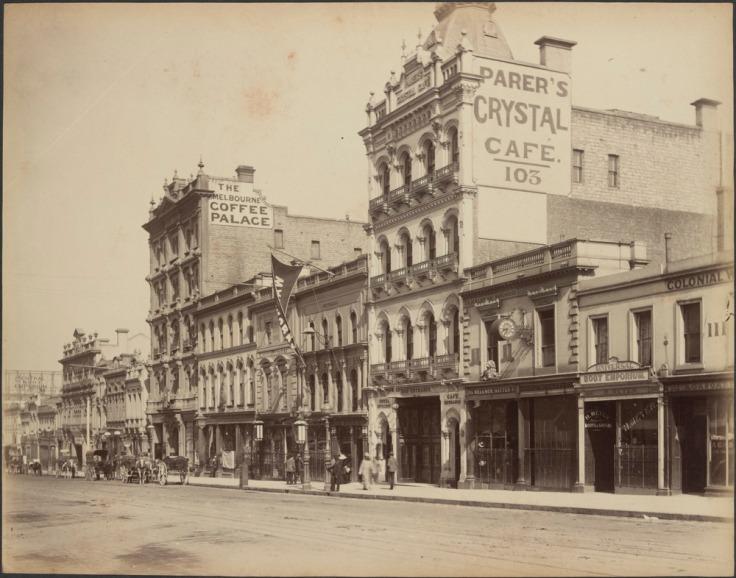 Bourke Street 1888