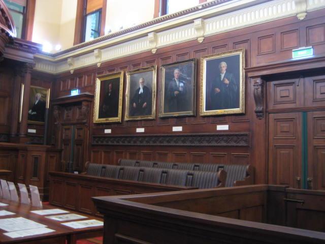 Old High Court Interior
