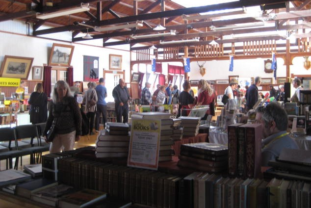 Book Sellers at Anzac Hall