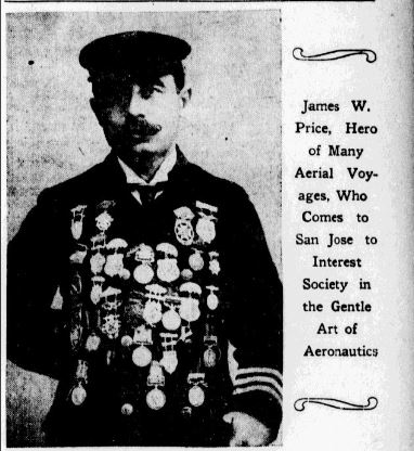 James W Price 1907